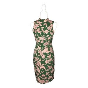 (NWOT) Carriage Tour Pink & Green Floral Dress